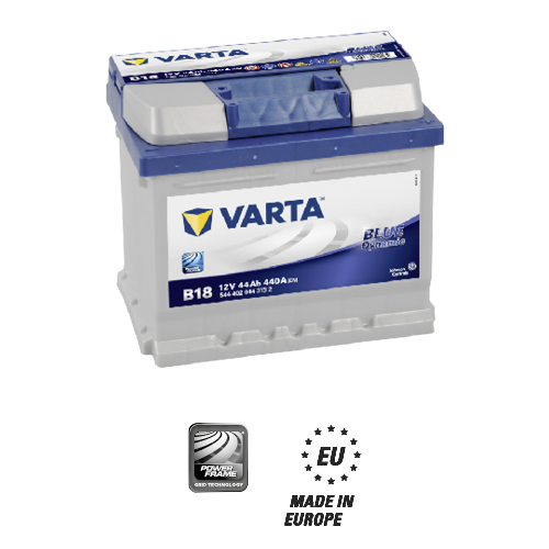 Varta blue dynamic B18