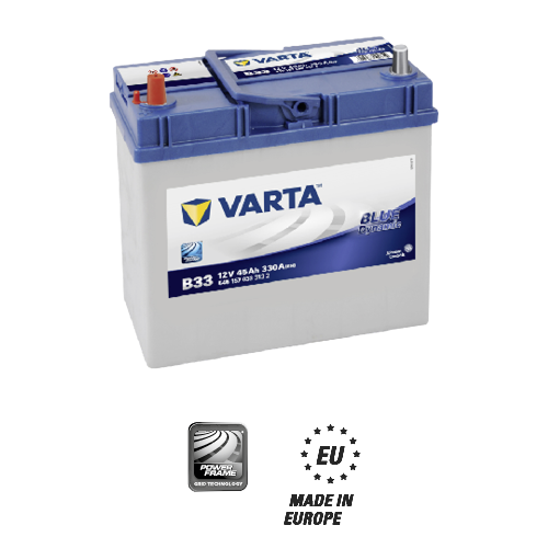 Varta blue dynamic B33