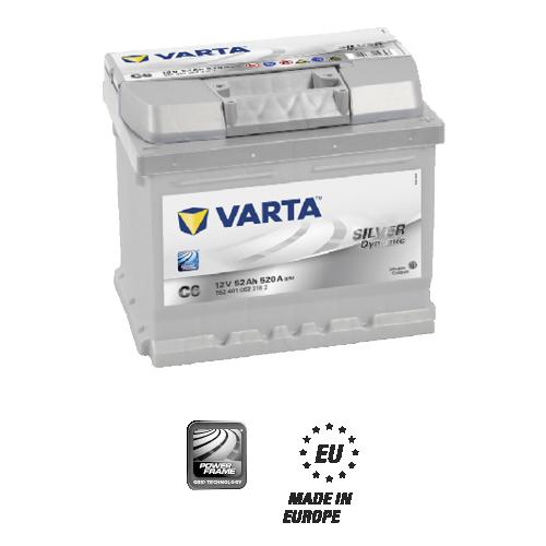 Varta Silver dynamic C6