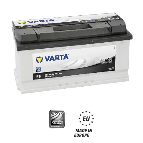 Varta black dynamic F5