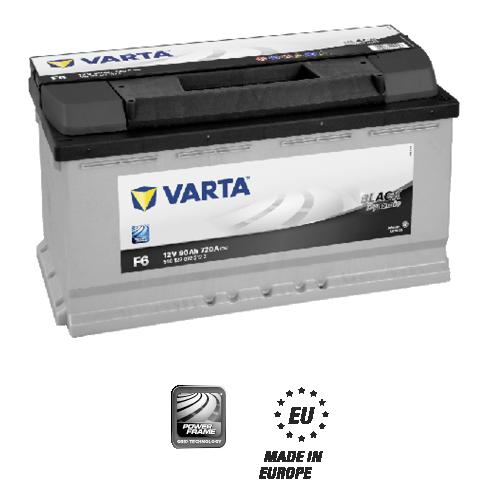 Varta black dynamic F6