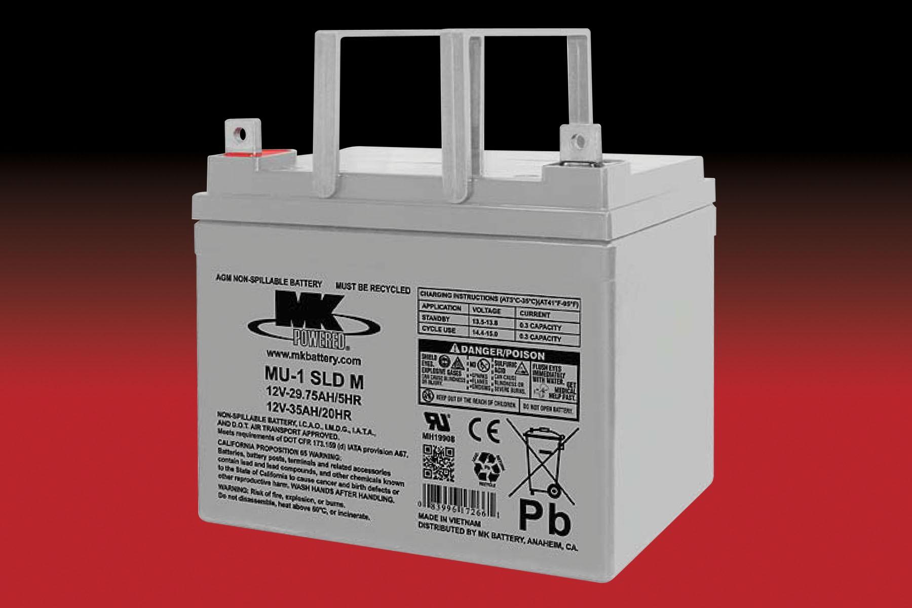 MK MU-1SLD AGM ACCU